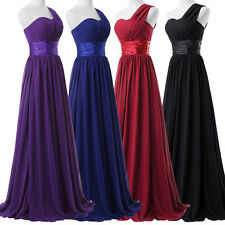 CHEAP PLUS Long Party Chiffon Bridesmaid Evening Dress Prom Formal Gowns Dresses