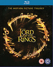 Lord of the Rings Trilogy Bluray Boxset Two Towers Return King Fellowship New UK