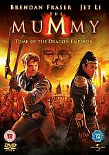 MUMMY PART 3 TOMB OF THE DRAGON EMPEROR DVD Brand New and Sealed UK Release