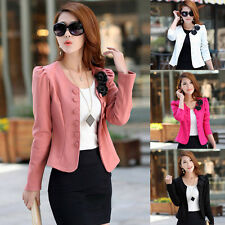 Sexy Casual One Button Slim Casual Business Blazer Suit Jacket Coat Outwear