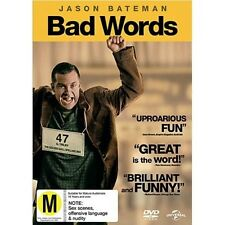 Bad Words (1 Disc) - DVD Region 2 Brand New Free Shipping