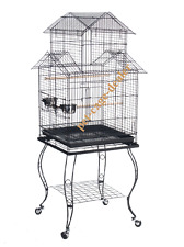 Bird Parrot Cage with Stand Cockatiel Amazon, Conure, 20 X 20 X 57H,CageDealer