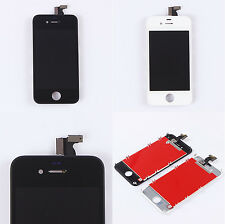 Replacement LCD Front Touch Screen Digitizer Assembly f iPhone 4 4S Black White