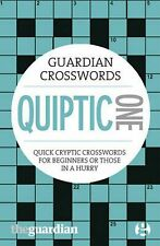 NEW Guardian Quiptic Crosswords by Hugh Stephenson Free Shipping