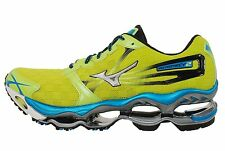 Mizuno Wave Prophecy 2 II Green Silver Mens Running Shoes Sneakers 8KN31-6100
