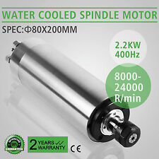 2.2KW WATER COOLED SPINDLE MOTOR GRINDING MILLING HIGH SPEED BE HIGHLY PRAISED