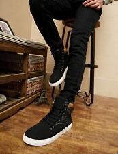 Fashion Men's Frosted Breathable Shoes Casual High Top Shoes Sneakers New
