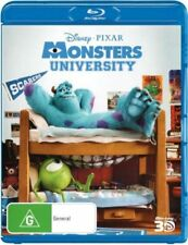 Monsters University (3d Blu-ray) - BLR Region A Brand New Free Shipping