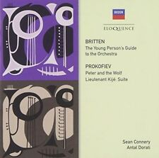BRITTEN: YOUNG PERSON'S GUIDE TO THE ORCHESTRA; PROKOFIEV: PETER AND THE NEW CD