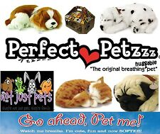 Perfect Petzzz ® Sleeping Pet Soft Fur Breathing Toy Dog Cat Animated Gift Pack