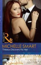 NEW Theseus Discovers His Heir by Michelle Smart Paperback Book Free Shipping