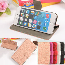 Crad Holder Wallet Cover Case Leather Magnetic For Various Phones Printed Flip
