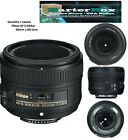 Nikon Nikkor 50mm F/1.8G FX AS G SWM AF-S SIC M/A Lens - Big Clearance Sale