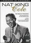 Nat King Cole - The Magic Of Music (DVD, 2011) - Brand New & Sealed