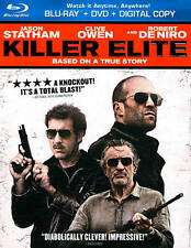 Killer Elite (Blu-ray/DVD, 2012, 2-Disc Set) opened non-scratched