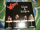 VIXEN cd LIVE AND LEARN free US shipping