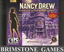 NANCY DREW: TREASURE IN THE ROYAL TOWER (PC Games) BRAND NEW & SEALED * 98 ME XP