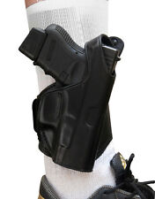 TAGUA LEATHER Ankle Holster Right Hand ~ Choose Your Gun~DRASTICALLY REDUCED!!!!