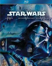 Star Wars Trilogy: Episodes IV-VI (Blu-ray Disc, 2011, 3-Disc Set, Boxed Set)