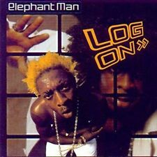ELEPHANT MAN - LOG ON NEW CD