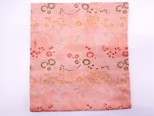 2138689: JAPANESE TEA CEREMONY / FUKUSA (SILK CLOTH) / BROCADE / WOVEN AUTUMN PL