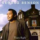 1 CENT CD That's Right - George Benson