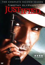 Justified: The Complete Second Season (DVD, 2012, 3-Disc Set)