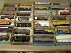 Vintage Athearn Roundhouse Ho scale train lot of 27, boxes