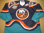 VTG Authentic 1996-97 New York Islanders CCM Center Ice Fight Strap Jersey 54