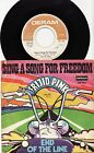FRIJID PINK - SING A SONG OF FREEDOM Ultrarare 1970 german P/S Single Release!