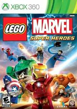 Display Box & Instruction Booklet Manual for Xbox 360 LEGO Marvel Super Heroes