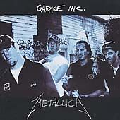 Garage, Inc. [Clean] [Edited] by Metallica (CD, Nov-1998, 2 Discs) PROMO