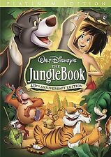 The Jungle Book (DVD, 2007, 2-Disc Set, 40th Anniversary Edition) with Slipcover