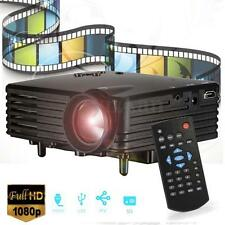 Mini 1080P Proyector Video Teatro Hogar SD USB AV VGA HDMI Por IPhone IPAD PC