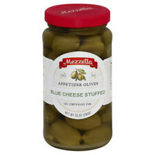 Mezzetta Olives, Appetizer, Blue Cheese Stuffed, in Dipping Oil