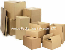 Strong Cardboard Boxes Double Wall Corrugated Packaging Mailing Removal BROWN