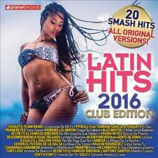 LATIN HITS 2016: CLUB EDITION - NEW CD
