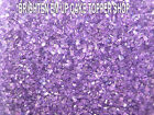EDIBLE SUGAR SAND CAKE CUPCAKE SRINKLE 50G PURPLE