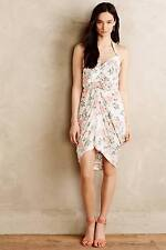 NEW Anthropologie Paper Crown + Rifle Paper Co Draped Bouquet Dress Size L