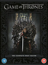 GAME OF THRONES***SERIES ONE***COMPLETE (DVD, 2012, 5-DISC BOX SET)