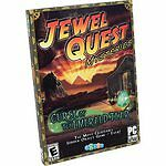 Jewel Quest Mysteries Curse of the Emerald Tear PC CD Game Year 2008 HOG EUC