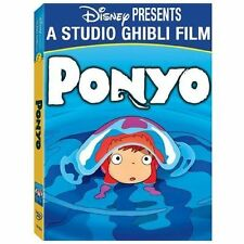 Ponyo DVD 2-Disc Set Factory Sealed w/ Slipcover Fast Shipping