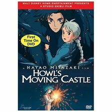 Howl's Moving Castle (DVD, 2006, 2-Disc Set) Sealed New with Slipcover