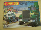 MATCHBOX TOY CATALOGUE 1982/83 USA EDITION VN MINT CONDITION