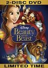 Beauty and the Beast (DVD 2-Disc Set, Diamond Edition) Factory Sealed Disney
