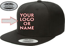 Custom Embroidered 6089 Flexfit Classic Snapback Yupoong Hat-Free Shipping!!!