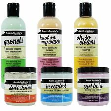 AUNT JACKIE'S CURLS & COILS HAIR CARE MOISTURISING,SOFTENING HAIR CARE PRODUCTS