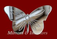 Personalised BUTTERFLY Acrylic Mirror CHRISTMAS * Present Gift  Stocking filler