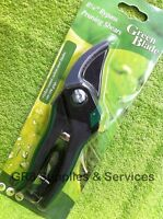 "8"" GARDEN BYPASS PRUNING SECATEURS SHEARS TEFLON COATED CARBON STEEL BLADE"
