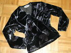 LNWOT Women nice sweater black and grey velvet colors 'Studio Fizz''size M